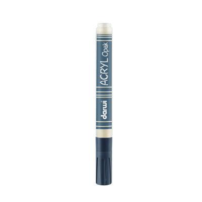Acryl Opak Marker 3mm White
