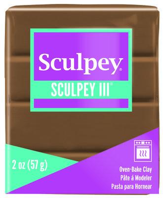 Sculpey III -- Hazelnut