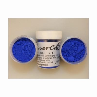 Pavercolor   40 ml. Blauw