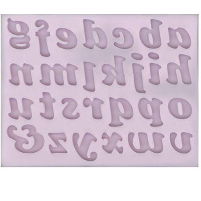 Cernit mold Alphabet